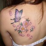 tatuagem borboleta 7