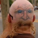 tatuagem cabeça