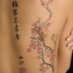 tatuagens femininas costas