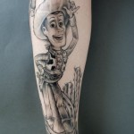 tatuagem perna 9