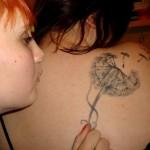 tatuagem dente leao 2