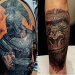 tatuagem realista