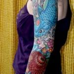 tatuagem carpa chinesa 1