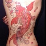tatuagem carpa chinesa 4
