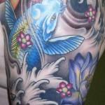 tatuagem carpa chinesa 6