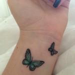 tatuagem de borboleta