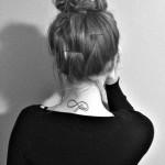 tatuagem de infinito