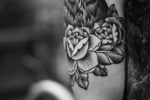 tatuagem de rosa