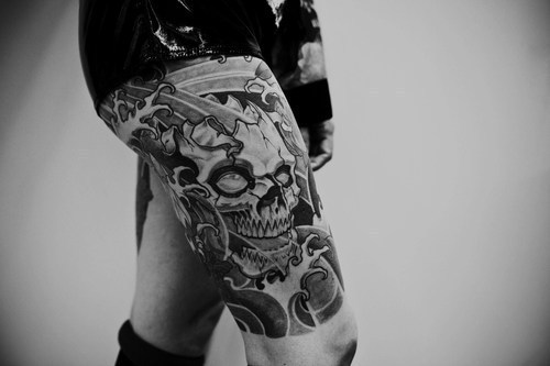 Significado de tatuagem de caveira for Skull leg tattoos