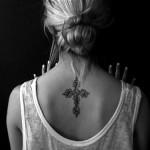 tatuagem de cruz