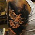 tatuagem de pomba