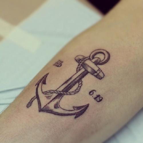 significado da tatuagem de ncora
