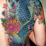 tatuagem de carpa