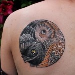 tatuagem de yin yang