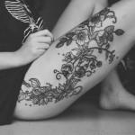 Veja aqui algumas ideias para tatuar a sua perna