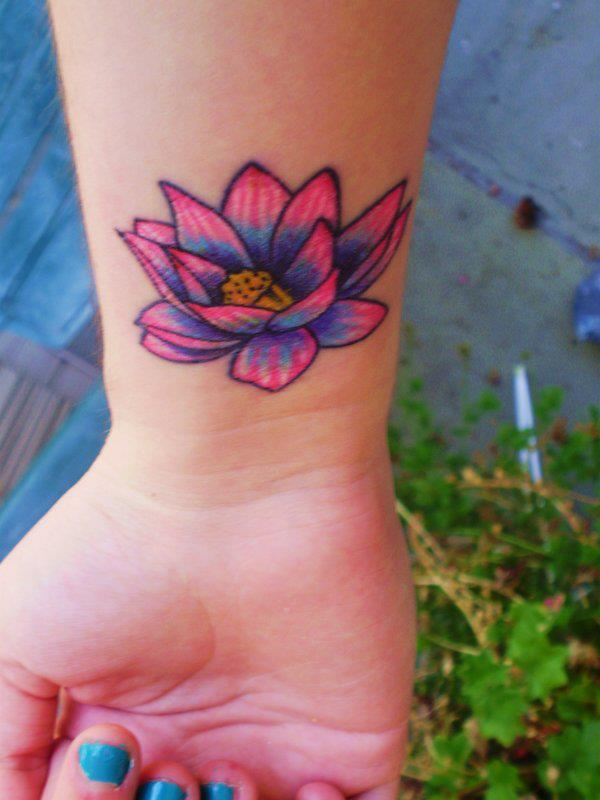 Significado Da Tatuagem De Flor De Lótus
