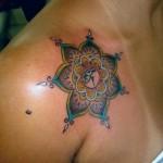 tatuagens femininas no ombro