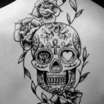 tatuagem significado caveira mexicana