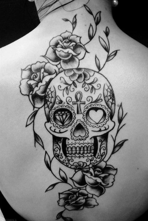 Galeria De Fotos Da Tatuagem Caveira Mexicana
