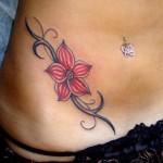 Veja algumas ideias para fazer uma tatuagem na barriga