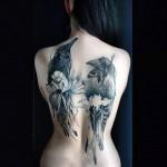 tatuagem de corvo