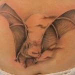 tatuagem de morcego