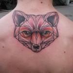 tatuagem de raposa