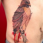 significado da tatuagem de falcão