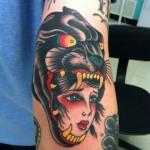significado da tatuagem de pantera