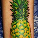 tatuagem de frutas