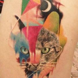 Veja algumas ideias de tatuagens com a técnica de aquarela