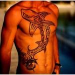 Veja qual o verdadeiro significado da tatuagem de tubarão