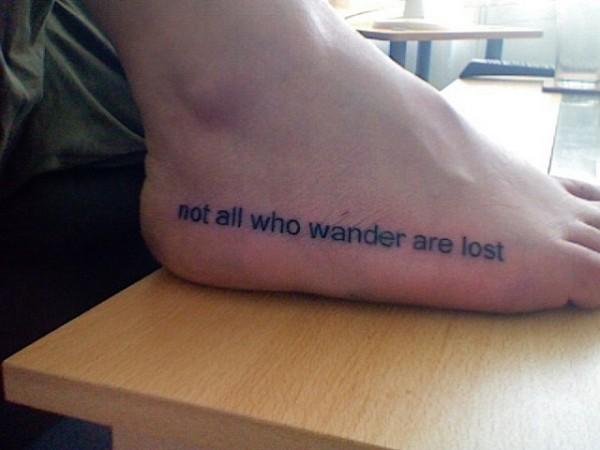 Tenha Pegada Inspirações De Tatuagens Nos Pés