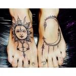 tatuagens no pé