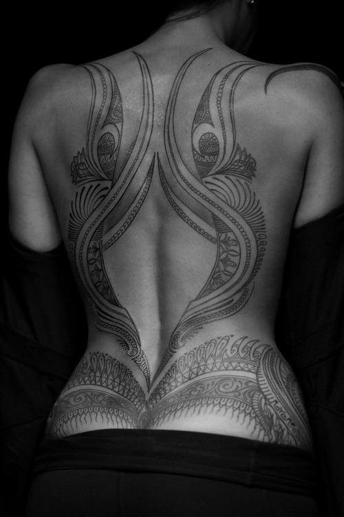 Extremamente Fotos de Tatuagens nas Costas NQ38