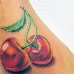 tatuagem de cereja