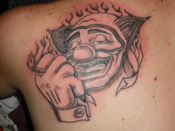 Significado Da Tatuagem De Palhaço