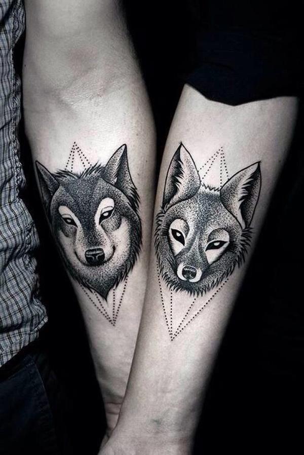 Favoritos Significado da Tatuagem de Lobo QJ96