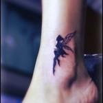 tatuagens femininas no tornozelo