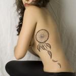 tatuagem de filtro de sonhos