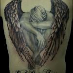 tatuagem de anjo