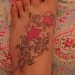 tatuagem de estrela