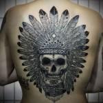 tatuagem de caveira