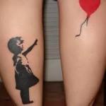 tatuagens femininas na perna