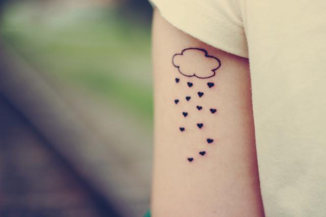 tatuagem de nuvem