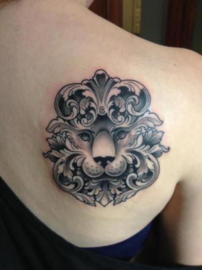 Significado da tatuagem de le o for Shoulder piece tattoos tumblr