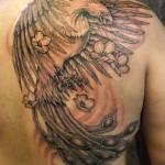 tatuagem da fênix
