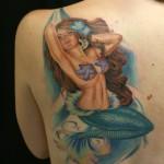tatuagem de sereia