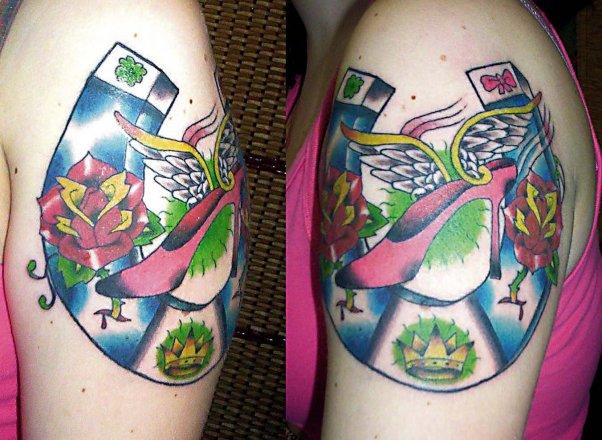 tatuagem de ferradura