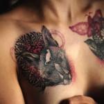 Neste artigo pode encontrar algumas ideias para tatuar o seu seio